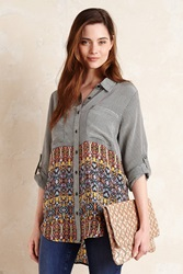 Tolani Evelyn Silk Shirt Multi