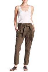 Frame Denim Le Paper Bag Skinny Pant Green