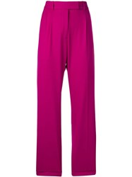 Calvin Klein 205W39nyc High Rise Straight Trousers Pink