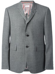 Thom Browne Flap Pockets Blazer Grey