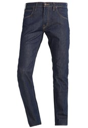 Lee Daren Straight Leg Jeans Deep See Dark Blue Denim