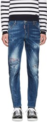 Dsquared2 Blue Sexy Twist Jeans