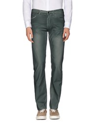 Versace Collection Trousers Casual Trousers Men Emerald Green