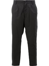 08Sircus Tapered Tailored Trousers Black
