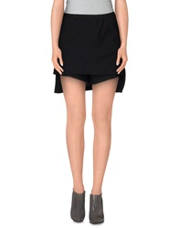 Rick Owens Mini Skirts Black