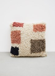 Minna Formas Shag Pillow Multicolored