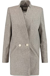 Iro Halime Tweed Coat Gray