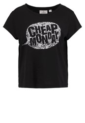 Cheap Monday Print Tshirt Black
