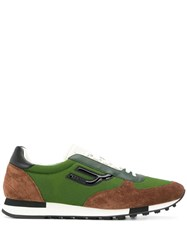 Bally Low Top Sneakers Green
