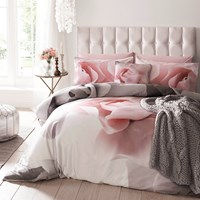 Ted Baker Porcelain Rose Duvet Cover Grey Pink