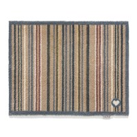 Hug Rug Contemporary Collection Stripe 26 Door Mat Brown