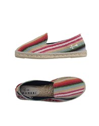 Manebi Footwear Espadrilles Men Brick Red