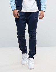 Gym King Poly Skinny Joggers In Blue