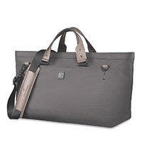 Victorinox Swiss Army Lexicon 2.0 Weekender Deluxe Carry All Tote Grey