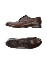 Fabi Footwear Lace Up Shoes Men Cocoa