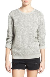 Junior Women's Rvca 'Criton' Marled Sweatshirt