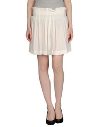 By Zoe Mini Skirts White