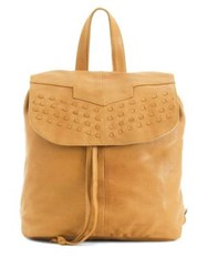 Day And Mood Marley Leather Backpack Cognac