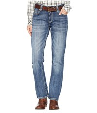 Rock And Roll Cowgirl Boyfriend In Medium Vintage W2 6668 Medium Vintage Jeans Blue