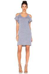 Nation Ltd. Cassandra Cold Shoulder Dress Gray