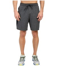 New Balance Transit Knit Shorts Heather Charcoal Men's Shorts Black