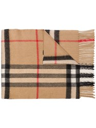 Burberry Archive Check Print Scarf 60