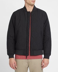 Levi's Black Quilted Bomber Jacket