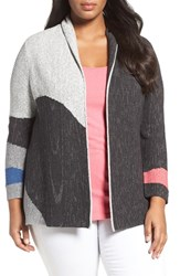Nic Zoe Plus Size Women's Charged Up Cardigan Multi