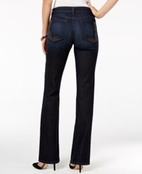 Nydj Barbara Tummy Control Embroidered Bootcut Jeans Burbank