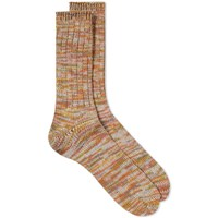 Anonymous Ism 5 Colour Mix Crew Sock Multi