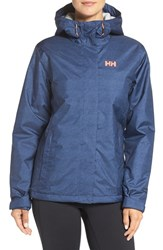 Helly Hansen Women's 'Nine K' Waterproof Hooded Jacket Evening Blue Denim