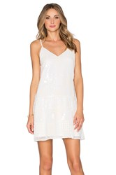 Endless Rose Delaney Dress White
