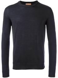 Etro Crew Neck Jumper Grey