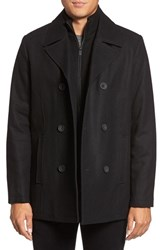 Kenneth Cole Men's New York Wool Blend Peacoat