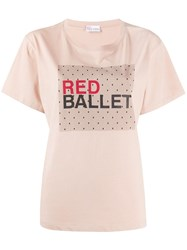 Red Valentino Ballet Print T Shirt 60