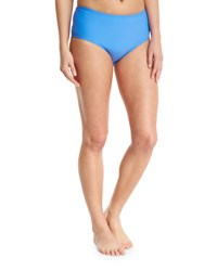 Athena Santorini Mid Waist Swim Bottom Blue