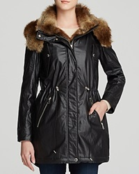 Marc New York Lauren Anorak With Faux Fur Trim