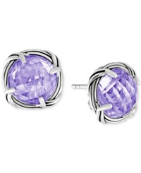 Peter Thomas Roth Lavender Amethyst Stud Earrings 8 Ct. T.W. In Sterling Silver