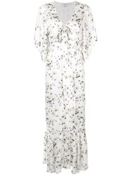 We Are Kindred Frenchie Tie Front Dress White