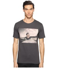 The Kooples Sport Surfing Skeleton T Shirt Khaki