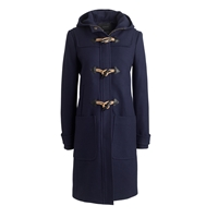 J.Crew Wool Melton Toggle Coat Navy