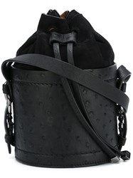 Desa 1972 Bucket Shoulder Bag Black