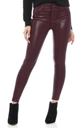 Sam Edelman The Stiletto Coated High Rise Skinny Jeans