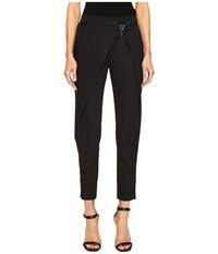 Versace Draped Open Pants Nero Women's Casual Pants Black