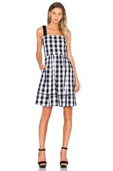 Kate Spade Gingham Dress Black And White