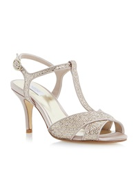 Untold Mydra Cross Over Sandal Gold