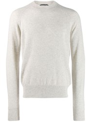 Tom Ford Knitted Jumper Grey