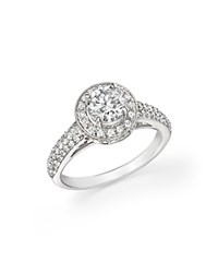 Bloomingdale's Diamond Engagement Ring In 14K White Gold 1.70 Ct. T.W.