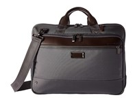 Briggs And Riley Work Medium Brief Grey Briefcase Bags Gray