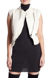 Jakett Vegan Ellie Hammered Vest White
